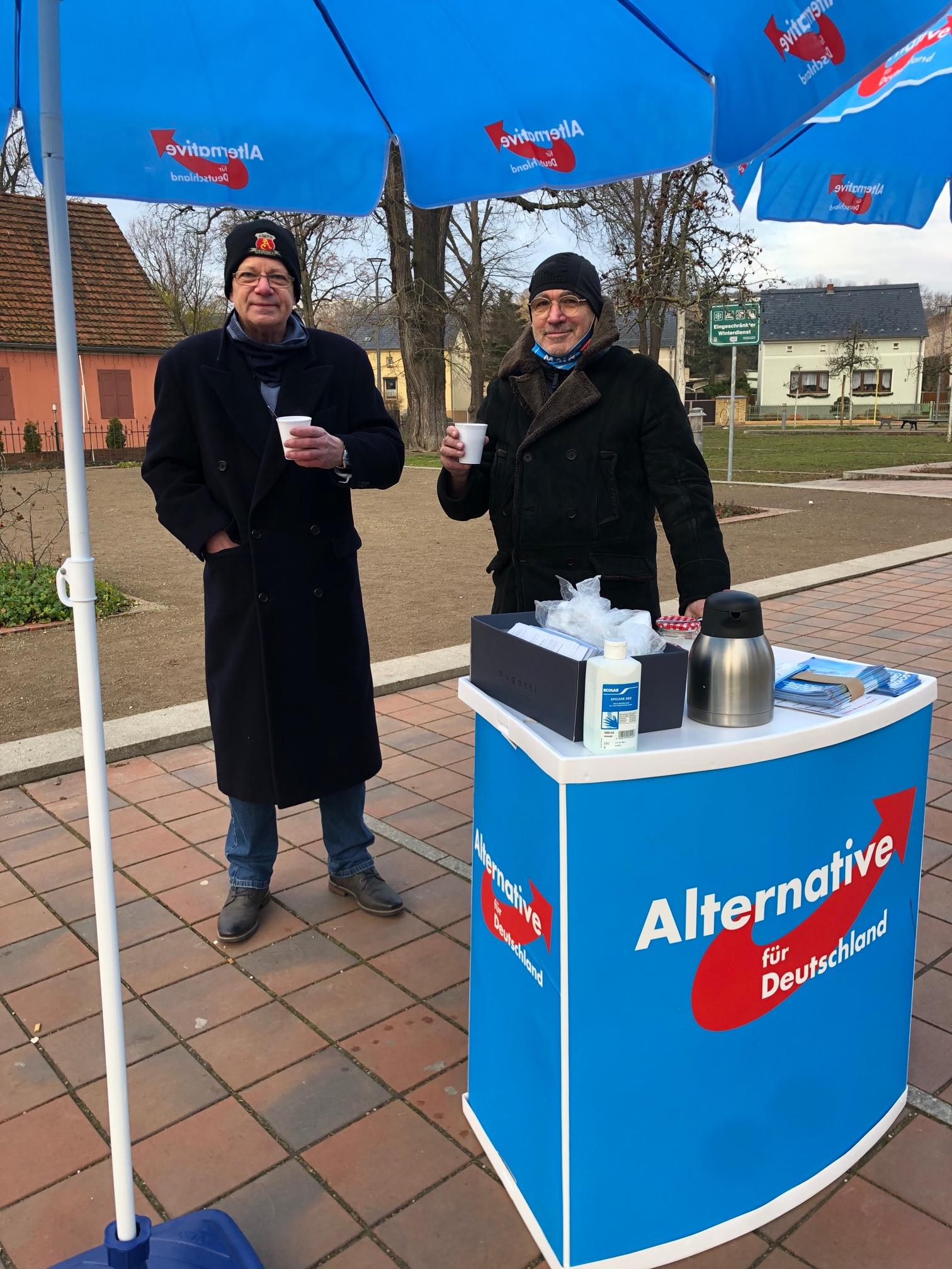 Infostand in Werder
